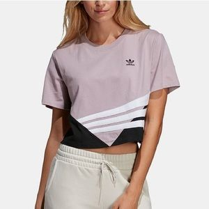 "NWT Adidas originals ""bossy 90's cropped t-shirt""."